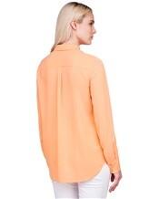 Рубашка IRISvARNIM 182203 100% шёлк Оранжевый Китай изображение 3