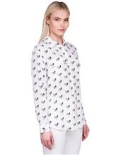 Рубашка Equipment Femme 17-5-001156 100% шёлк Белый Китай изображение 2