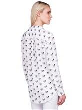 Рубашка Equipment Femme 17-5-001156 100% шёлк Белый Китай изображение 3