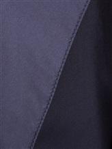 Плащ Agnona C2010Y 100% шёлк Темно-синий Италия изображение 4
