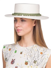 Шляпа EREDA 63121C 100% бумага Натуральный Италия изображение 3