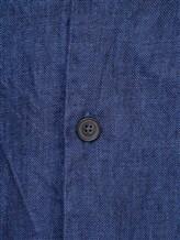 Рубашка XACUS 703ML 100% лён Синий Италия изображение 5