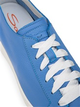 Кеды Santoni WBCE53853 100% кожа Голубой Италия изображение 5