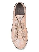 Кеды Henry Beguelin SD3421 100% кожа Бежево-розовый Италия изображение 4