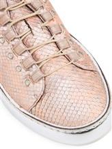 Кеды Henry Beguelin SD3421 100% кожа Бежево-розовый Италия изображение 5