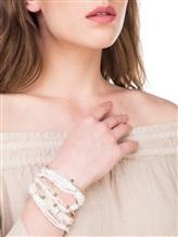 Браслет Lorena Antoniazzi LP33102BR1 90% латунь, 8% нейлон, 2% Медь Бежево-белый Италия изображение 1