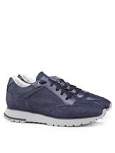 Кроссовки Santoni MBVR20681 100% кожа Темно-синий Италия изображение 0