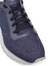 Кроссовки Santoni MBVR20681 100% кожа Темно-синий Италия изображение 5