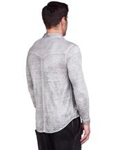 Рубашка AVANT TOI 218U2812 100% лён Светло-серый Италия изображение 3
