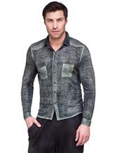 Рубашка AVANT TOI 218U2812 100% лён Хаки Италия изображение 0