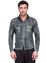 Рубашка AVANT TOI 218U2812 100% лён Хаки Италия изображение 1