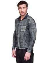 Рубашка AVANT TOI 218U2812 100% лён Хаки Италия изображение 2