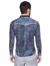 Рубашка AVANT TOI 218U2812 100% лён Темно-синий Италия изображение 3