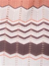 Платье Re Vera 18001004 100% шёлк Бело-коричневый Италия изображение 4