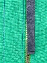 Платье Agnona R2000Y 99% лён, 1% полиамид Зеленый Италия изображение 4