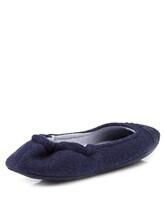 Тапки Agnona HS300X 100% кашемир Темно-синий Италия изображение 3
