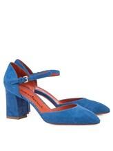Туфли Santoni WDHZ57115 100% кожа Голубой Италия изображение 0