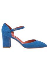 Туфли Santoni WDHZ57115 100% кожа Голубой Италия изображение 1