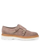 Туфли Santoni WUSH57119 100% кожа Бежевый Италия изображение 1