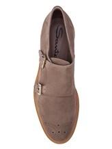 Туфли Santoni WUSH57119 100% кожа Бежевый Италия изображение 4