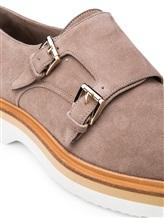 Туфли Santoni WUSH57119 100% кожа Бежевый Италия изображение 5