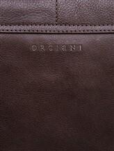 Сумка Orciani P00685 100% кожа Коричневый Италия изображение 4