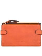 Кошелек Santoni UFPPA1344 100% кожа Оранжевый Италия изображение 0