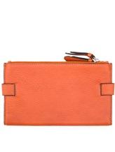 Кошелек Santoni UFPPA1344 100% кожа Оранжевый Италия изображение 1