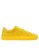 Кеды HIDE&JACK CRCLYLWYLW 100% кожа Желтый Италия изображение 1