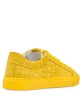 Кеды HIDE&JACK CRCLYLWYLW 100% кожа Желтый Италия изображение 3