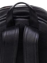 Рюкзак Orciani P00635 100% кожа Черный Италия изображение 5