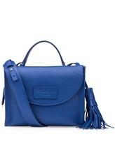 Сумка Santoni DFBBA1535 100% кожа Синий Италия изображение 3