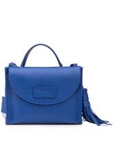 Сумка Santoni DFBBA1535 100% кожа Синий Италия изображение 0