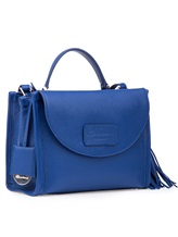 Сумка Santoni DFBBA1535 100% кожа Синий Италия изображение 4