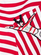 Футболка Tsumori Chisato JK056 100%хлопок Красный Япония изображение 6