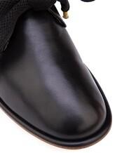 Туфли Attilio Giusti Leombruni D741018 100% кожа Черный Италия изображение 5