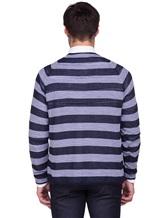 Джемпер Missoni 539220 100%хлопок Серо-синий Италия изображение 3