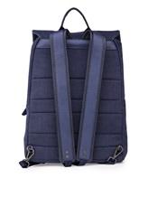 Рюкзак ZANELLATO 36172 100% лён Фиолетово-синий Италия изображение 4