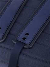 Рюкзак ZANELLATO 36172 100% лён Фиолетово-синий Италия изображение 5