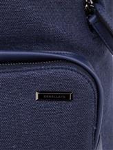 Рюкзак ZANELLATO 36172 100% лён Фиолетово-синий Италия изображение 6
