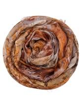 Палантин Faliero Sarti 2052 49% модал, 34% купра, 9% шёлк, 8% полиэстер рыже-коричневый Италия изображение 0