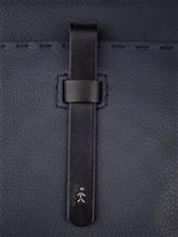 Сумка Henry Beguelin BU1401 100% кожа Темно-синий Италия изображение 5