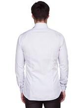 Рубашка XACUS 292ML 100%хлопок Голубой Италия изображение 3