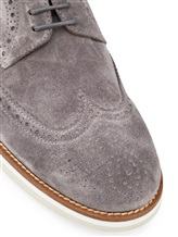 Ботинки EREDA DU1367DANIUF0 100% кожа Серый Италия изображение 5