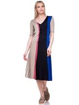 Пуловер Agnona A0901 40% шерсть, 30% кашемир, 30% шёлк Сине-бежевый Италия изображение 1