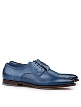 Ботинки Santoni MCWI13741 100% кожа Темно-синий Италия изображение 0