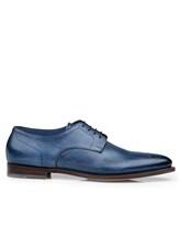 Ботинки Santoni MCWI13741 100% кожа Темно-синий Италия изображение 1