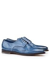 Ботинки Santoni MCWI13741 100% кожа Темно-синий Италия изображение 6