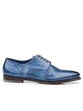 Ботинки Santoni MCWI13741 100% кожа Темно-синий Италия изображение 7