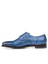 Ботинки Santoni MCWI13741 100% кожа Темно-синий Италия изображение 8